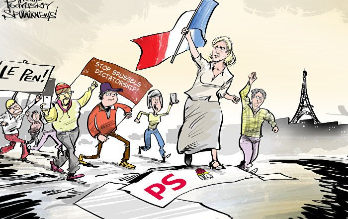 Enough is enough! It seems the French are fed up with their government's policy, that's why France's right-wing, anti-immigration, eurosceptic National Front party came out on top in six of 13 regions in the first round of the regional elections.