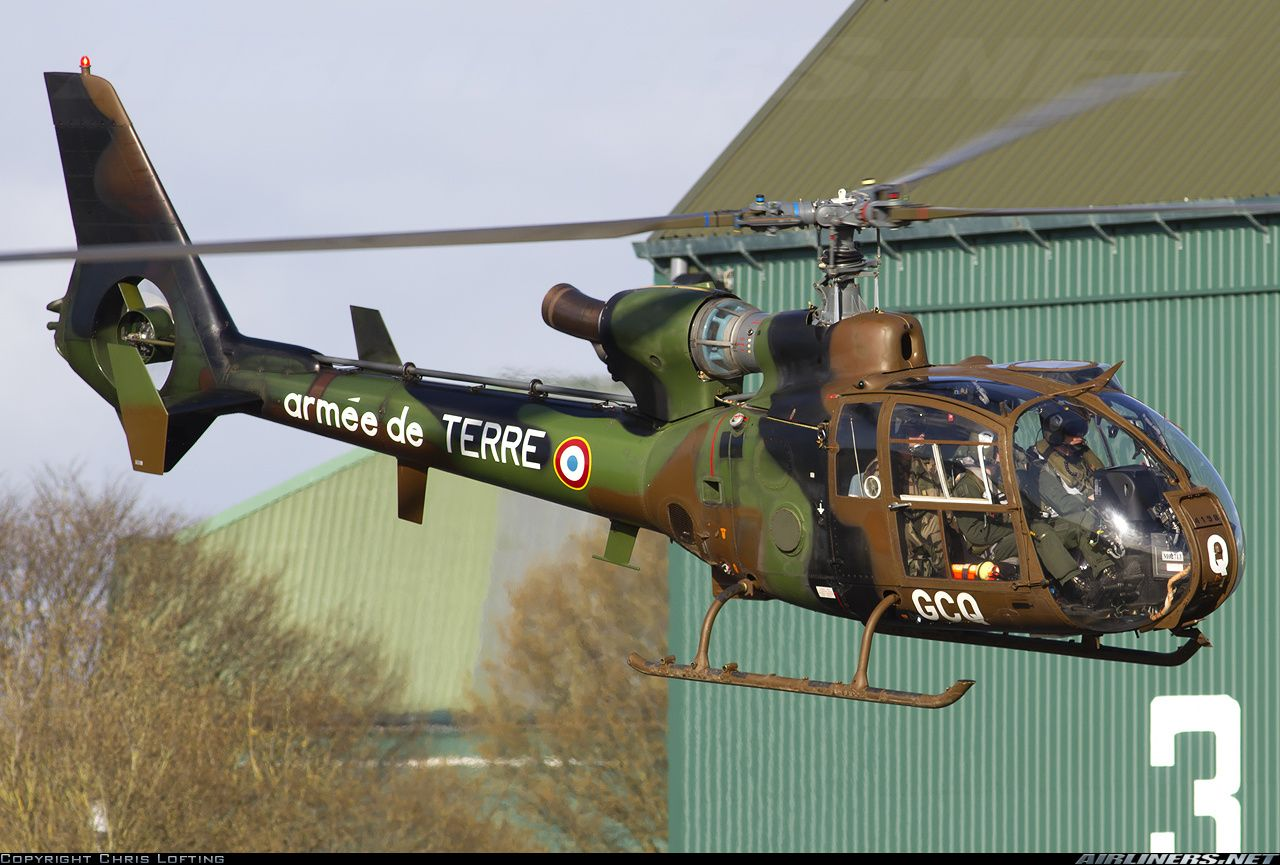 French Army Aerospatiale SA-342M Gazelle