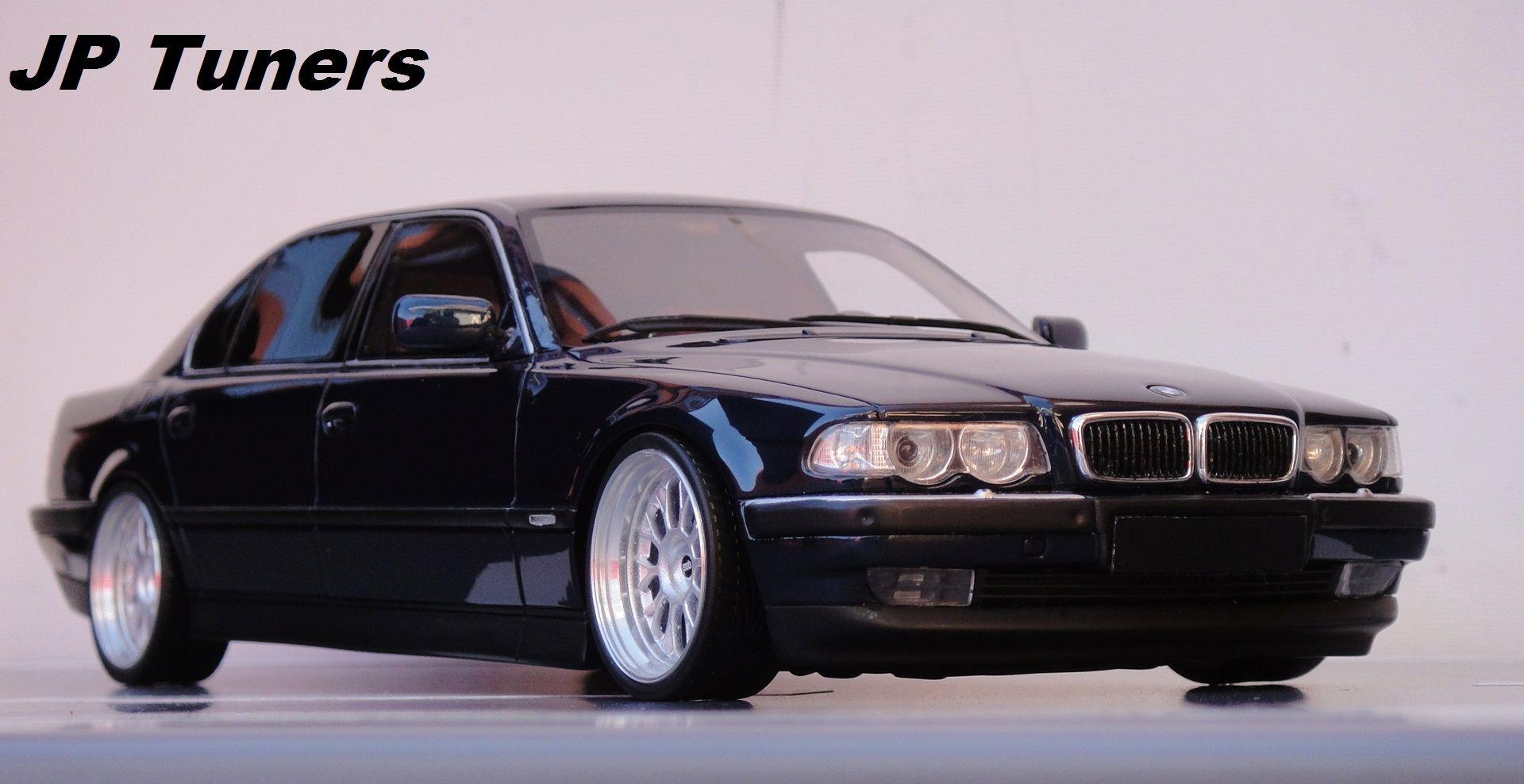1 18 Bmw 750 Il Jp Tuners Modele 1 24 1 18 Bmw Car Tuning I Cars