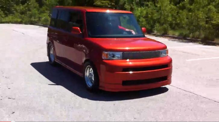 V8 Powered Scion xB Makes Fun Of Hondas [Video] | Scion | Pinterest ...