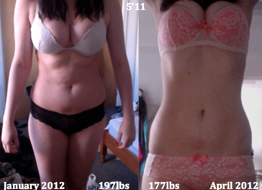 realistic weight loss in 4 months