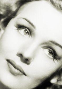 Tightly framed Frances Farmer