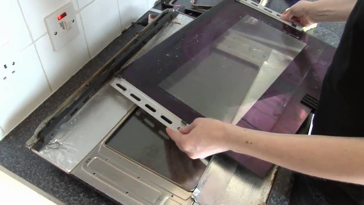 How To Clean And Replace The Oven Door Glass In A Smeg Cooker Smeg Cookers Clean Oven Door Oven Door Cleaner