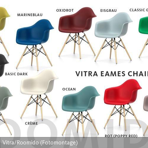 alle farben des vitra eames chair daw - Fantastisch Tolles Dekoration Eames Chair Grau