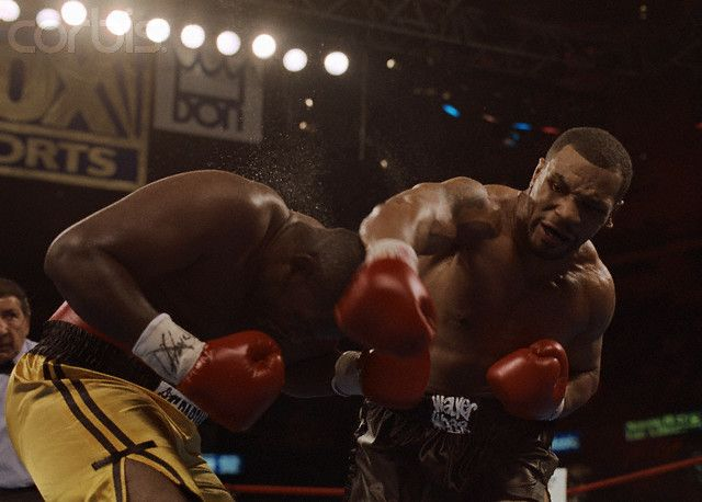 Mike Tyson VS Buster Mathis jr, - Round Knock Out! Click Photo to Watch  Fight