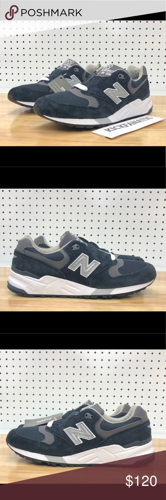 the latest d364d b47f5 New Balance 999 M999CBL Made In USA Navy Shoes New Balance ...