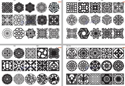 Details about 900 DXF SVG files new CNC files 2D laser