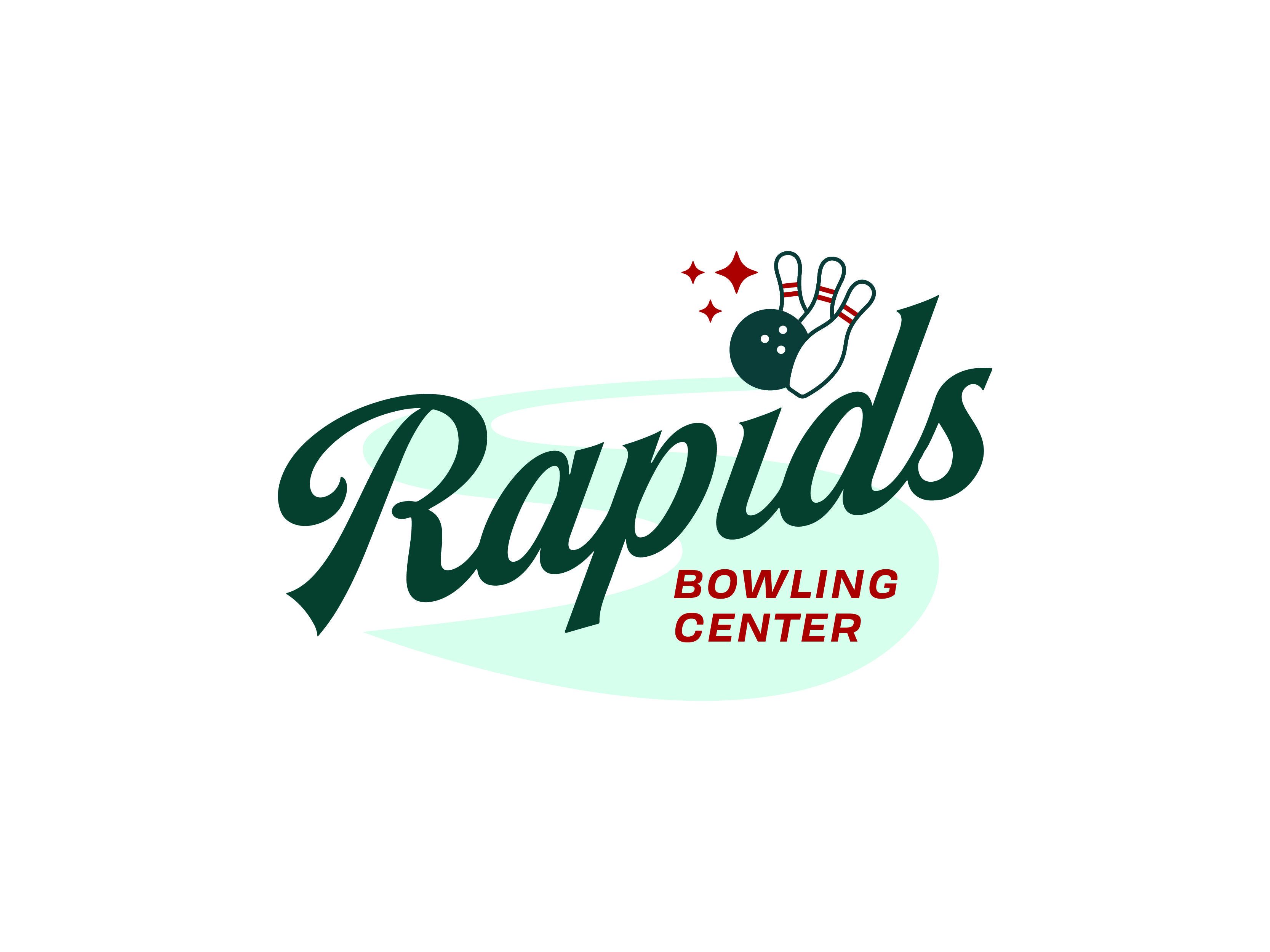 Rapids Bowling Logo Concept Graveyard 1 3 Logo Concept Bowling Logos
