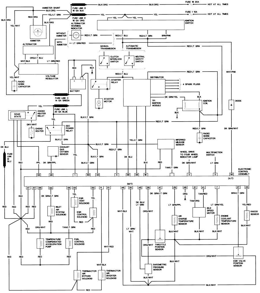 Pin By Karen Insixiengmay On Ford Ranger Ford Ranger Electrical Wiring Diagram Diagram