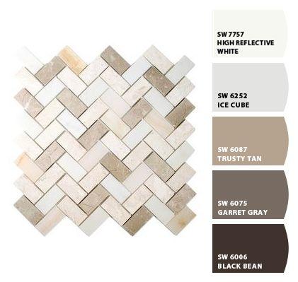 allen roth mosaic tile