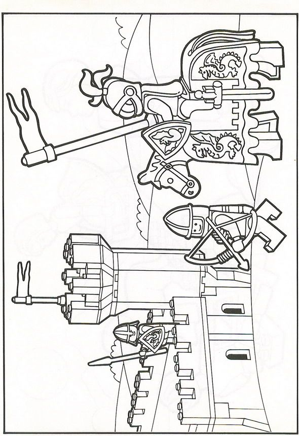 Coloriage Chateau Ninjago.Pin By Reesuemee On Rittergeburtstag Lego Coloring Pages