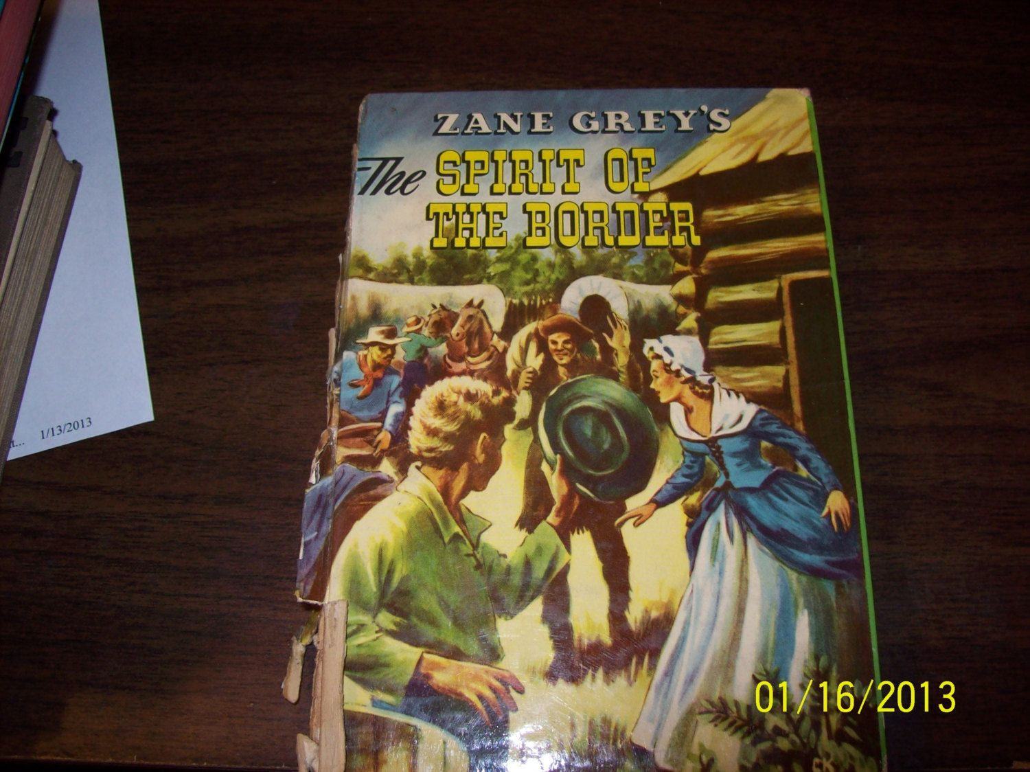 Vintage Childs Book The Spirit of the Border Fiction by vintagecitypast on Etsy
