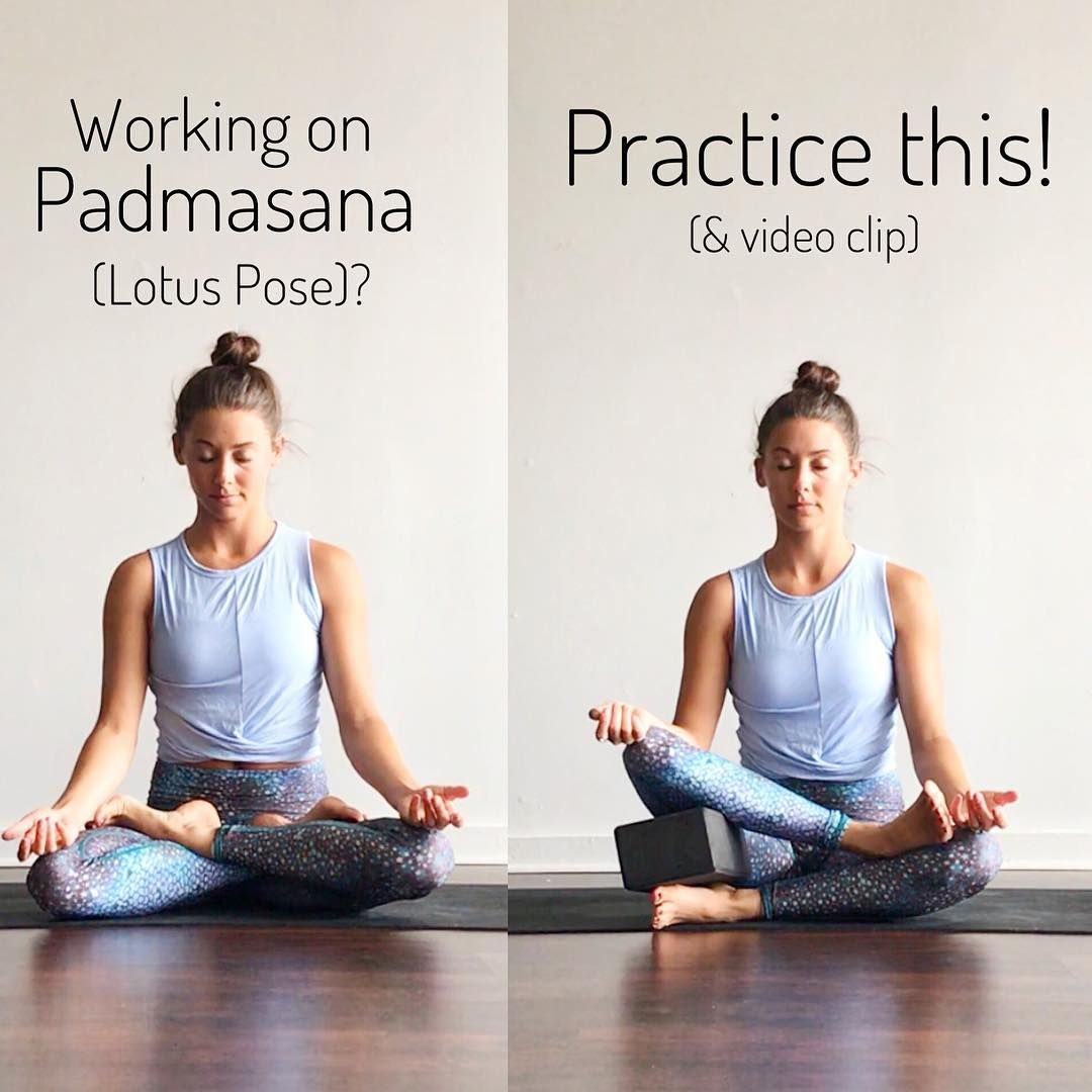 Padmasana(Lotus pose) is a beautiful, transformative asana ...