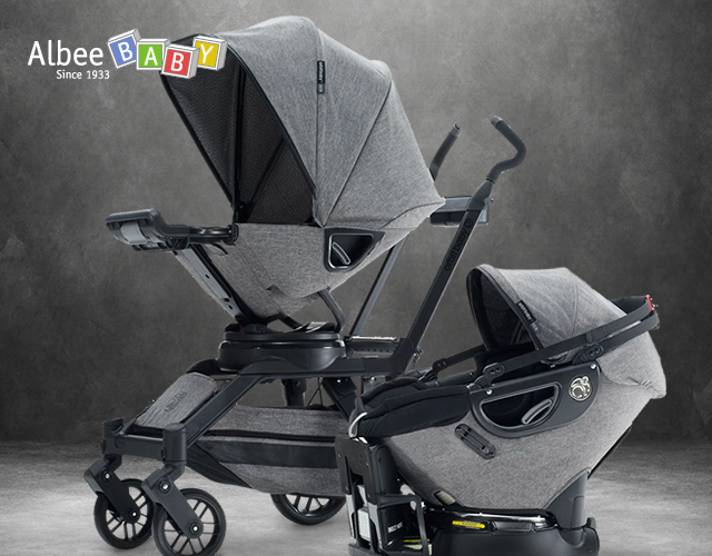 Designed To Beautifully Stroll The Line Between Vintage Inspiration And Modern Design The Porter Collection I Orbit Baby Travel System Black Friday Baby Deals