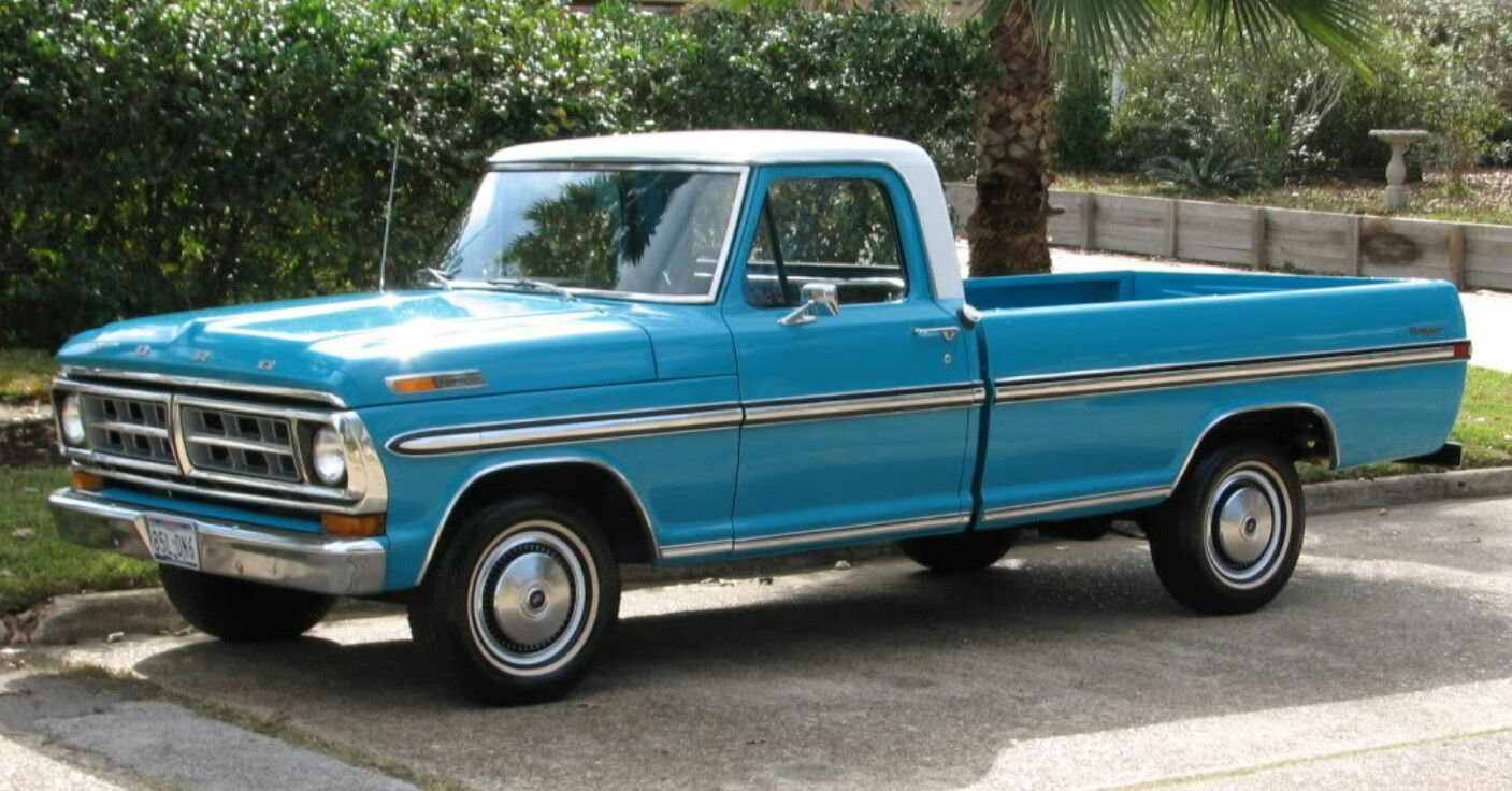 71 Ford F 100 Ford Pickup Trucks Trucks Ford Trucks