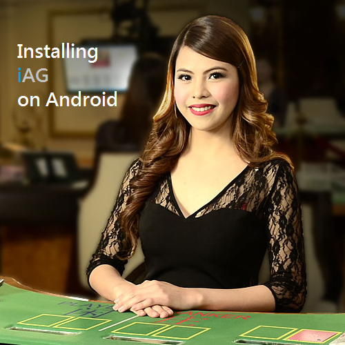 Installing iBET Malaysia mobile casino iAG on Android