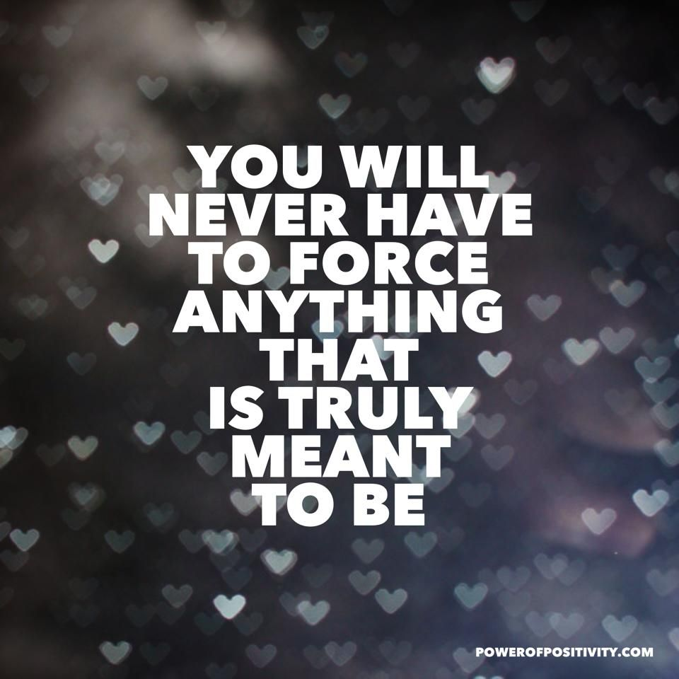 Magical Quotes Don't Force Ita Natural Flow Is Best Affirmation