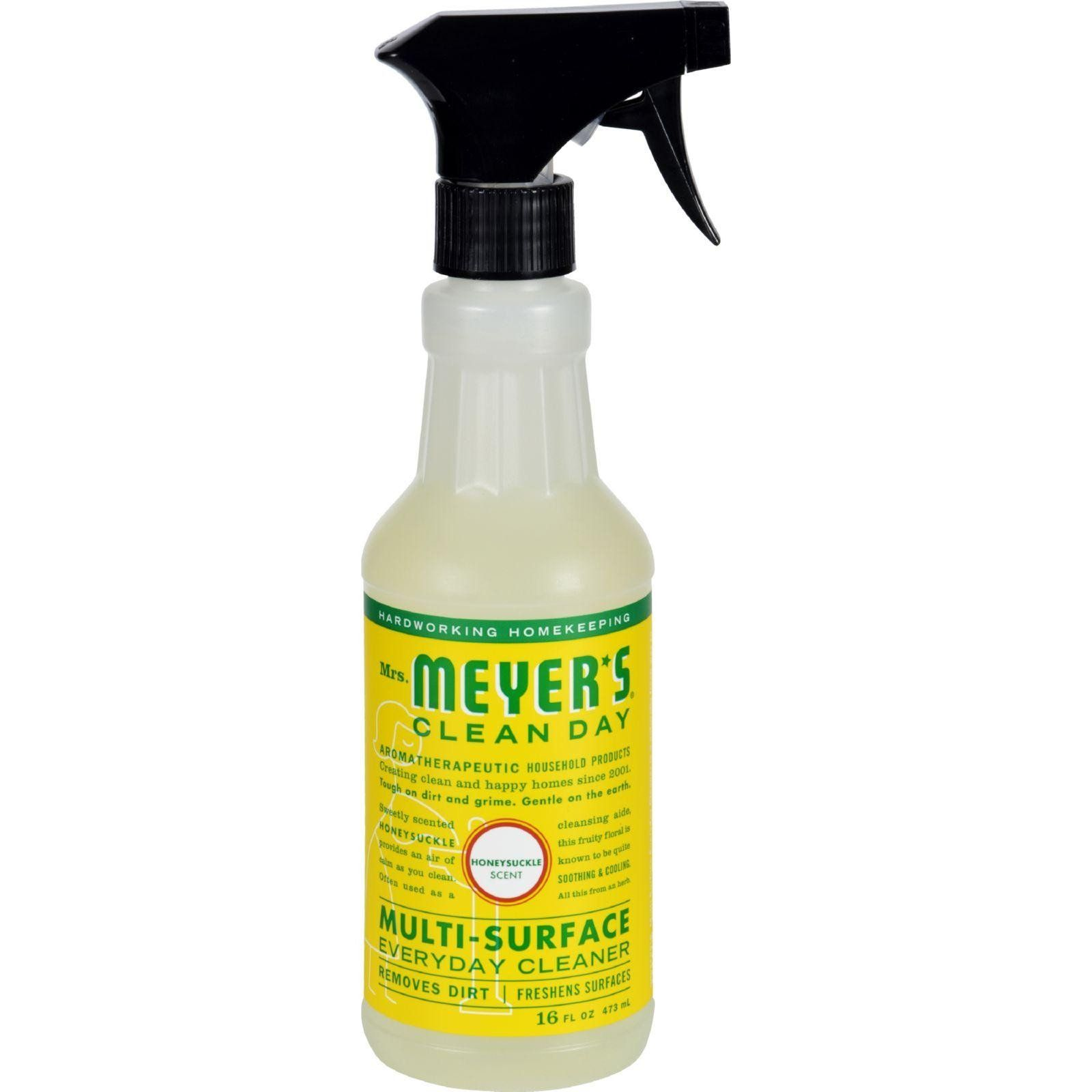 Mrs Meyers Multi Surface Spray Cleaner Is Good For Almost Any