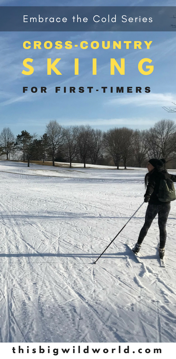 Are you tired of being stuck indoors in the winter? So was I! I've decided to embrace the cold and try new outdoor winter sports, starting with cross-country skiing in Minnesota. #minnesota #minneapolis #crosscountryskiing #outdoorwintersports
