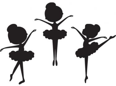 silhouette ballerina clip art meylah cards pinterest rh pinterest ie free ballet clipart downloads free clipart ballet dancer silhouette