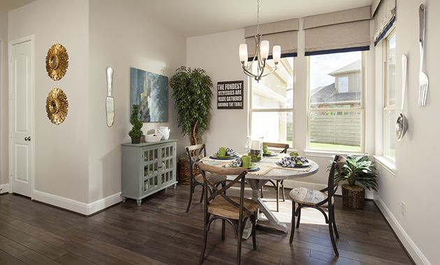 Coventry Homes | breakfast nook