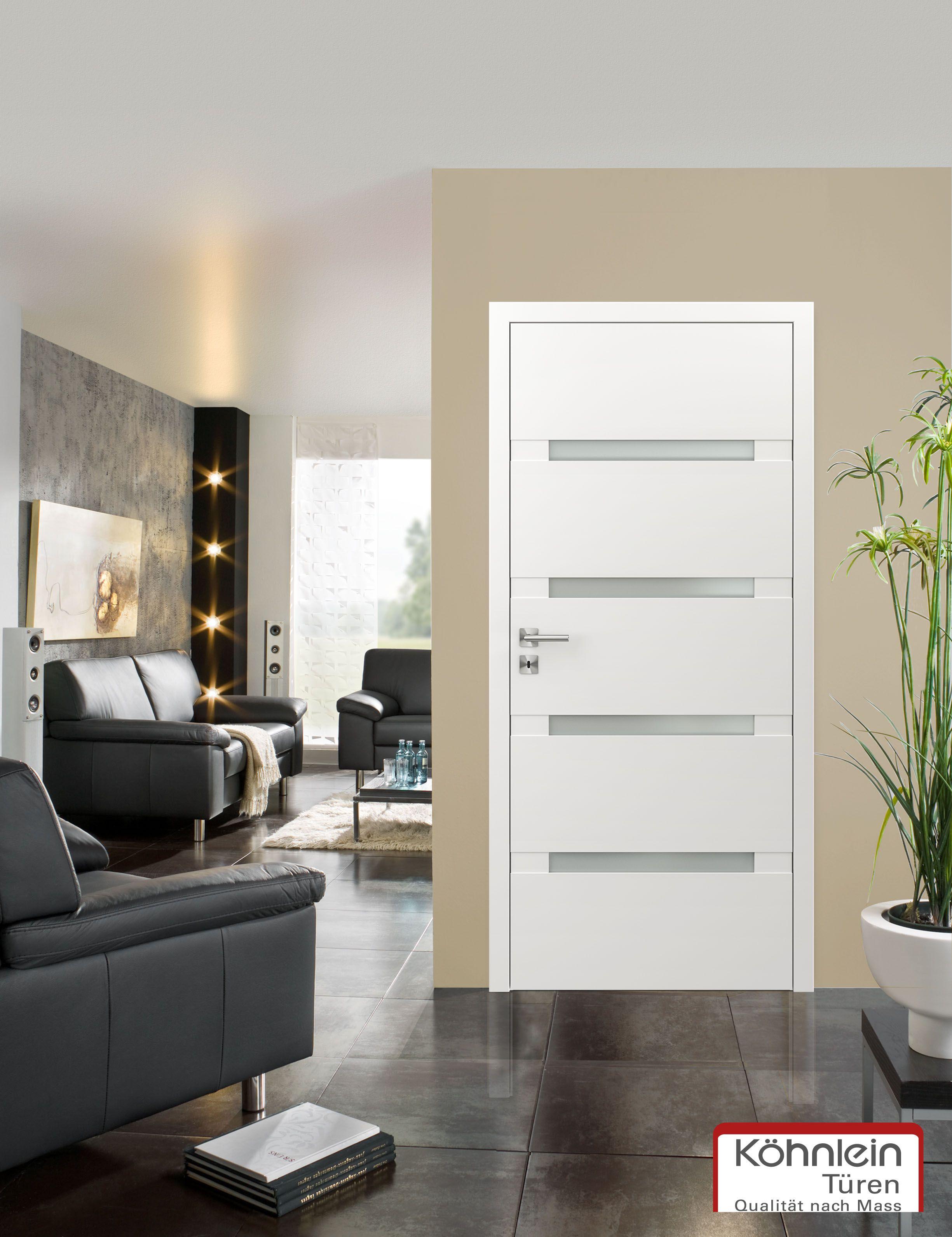 Zimmertüren grau  Schmale Lichtausschnitte bei Zimmertüren, unser Beispiel zeigt ...