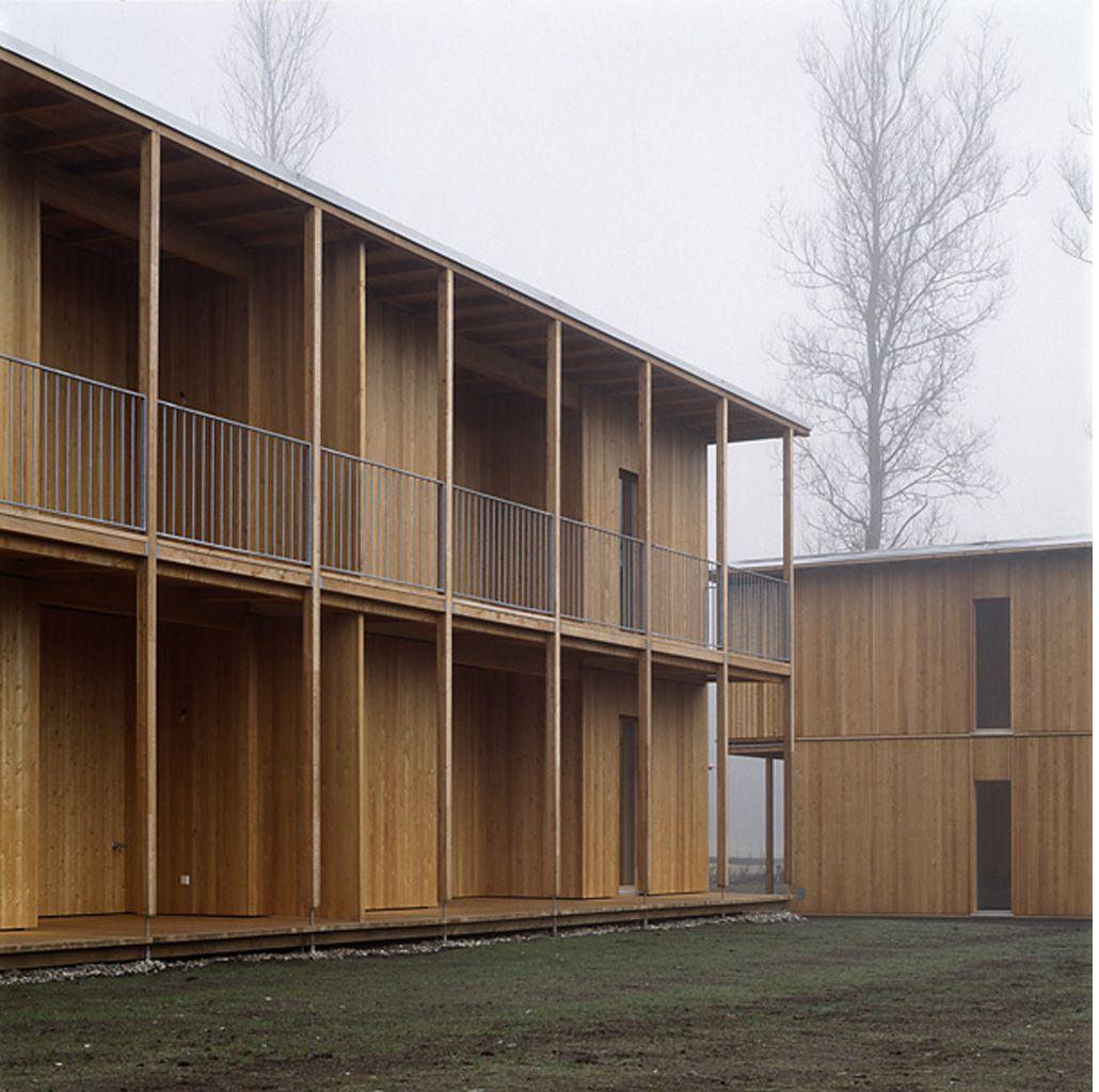 Markstein Timber Frame Housing Markstein Feldkirchen Carinthia Austria