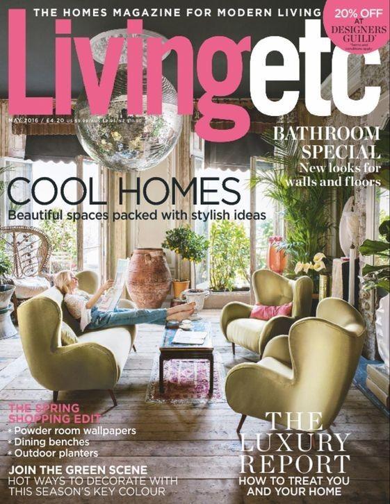 Living Etc Uk Magazine Single Issue Living Etc Living Etc
