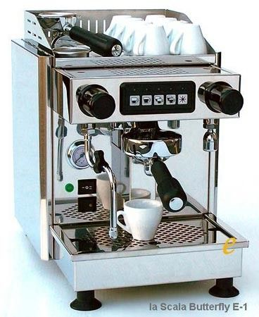 La Scala Butterfly Coffee Machine La Scala Butterfly