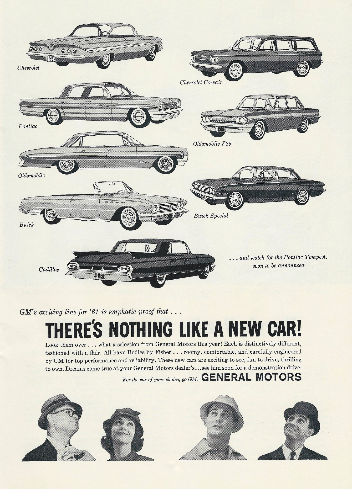 Vintage Automobile Advertising In The Navy Air Force Football Game Official Program Dated October 15 1960 The 1961 General Motors Automobiles Automobile Advertising General Motors Car Advertising