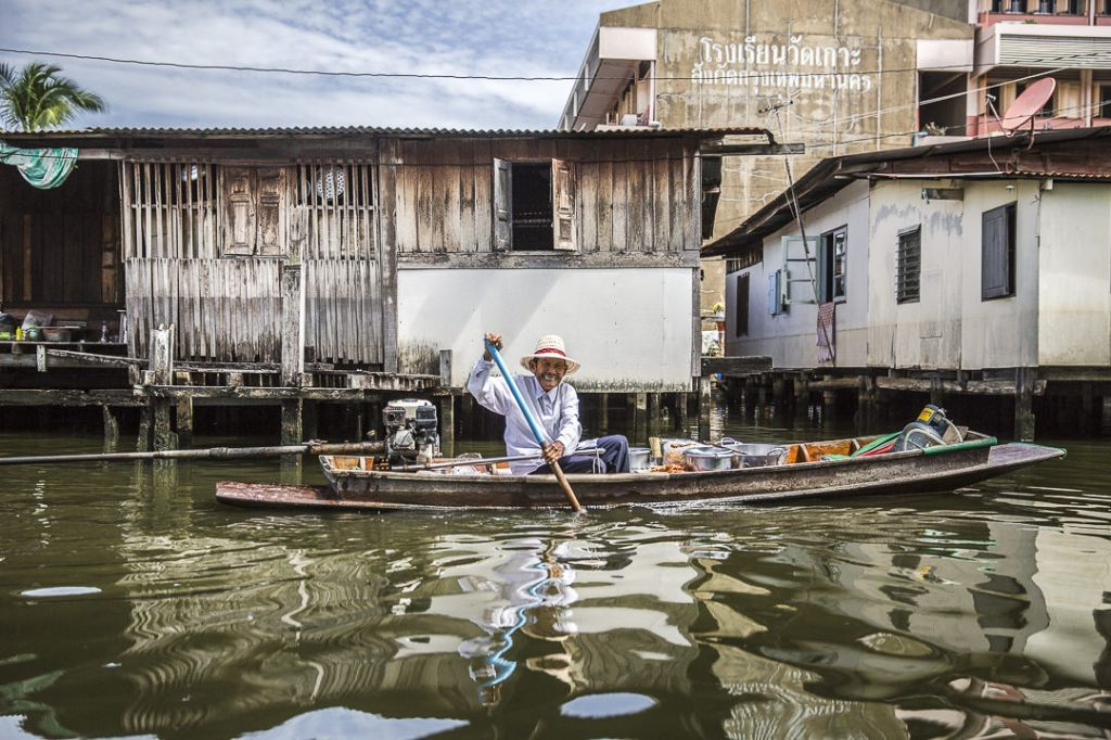 Dans les klongs à Bangkok - Thaïlande