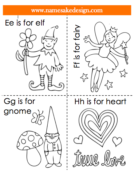 Namesake Design Lunch Note Mini Coloring Cards For Little Kids Free Pdf Color Card Design Free Kids