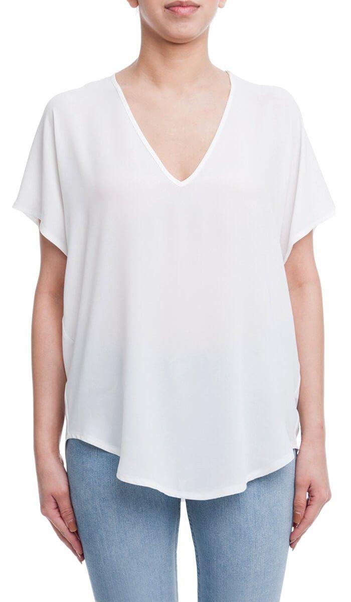 16f5d977dff34 Lush Clothing White Blouse - Capital Facility Management
