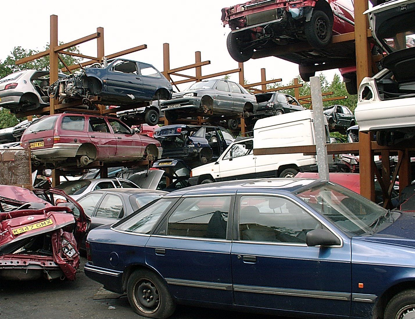 Junk Car Removal | Towing & Junk Removal | Pinterest | Abandoned ...