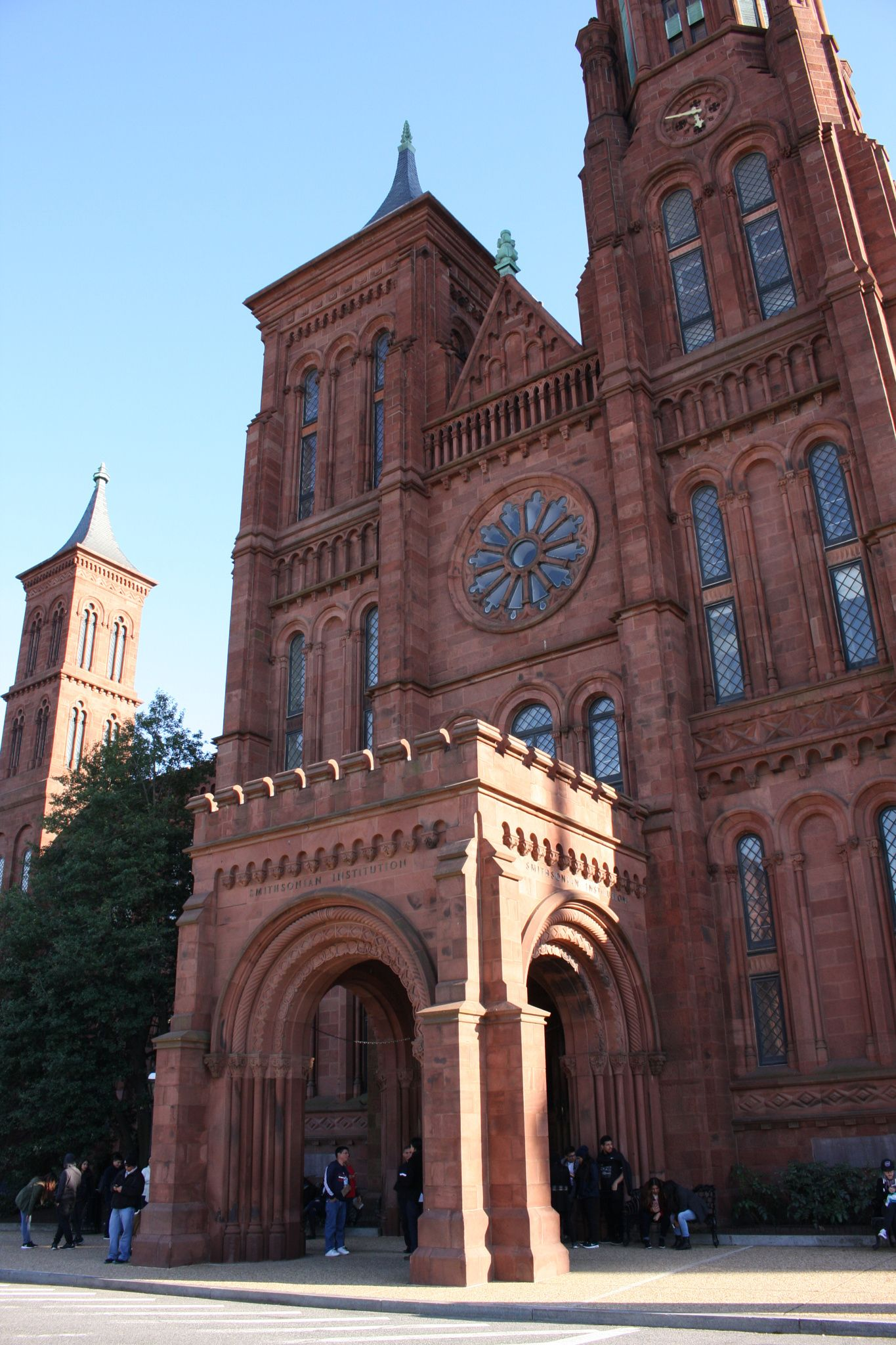 Walking by Smithsonian Institution - By Marlene Corte