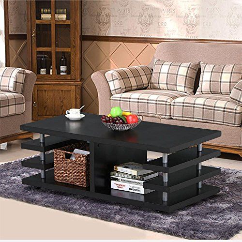 Amazon Com Mecor Set Of 3 Nesting Table Side End Coffee Table