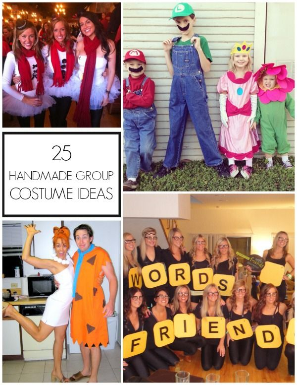 tons of great diy group halloween costume ideas - Great Group Halloween Costume Ideas