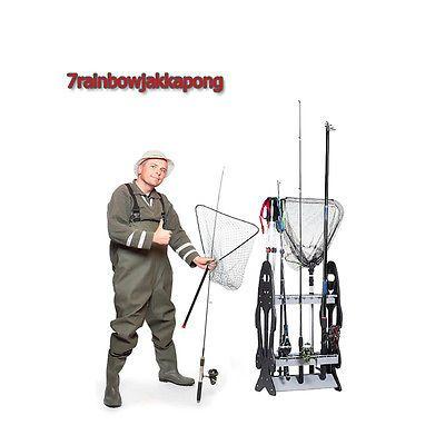 Fishing Pole Display Racks