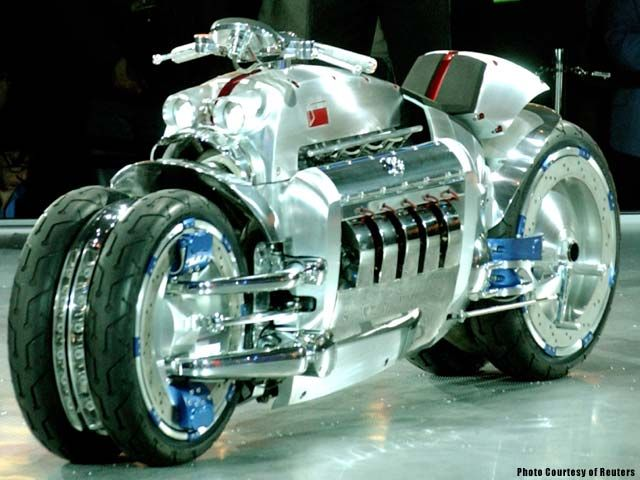 Fastest Motorcycle Dodge Tomahawk Top 10 Fastest Motorcycles In