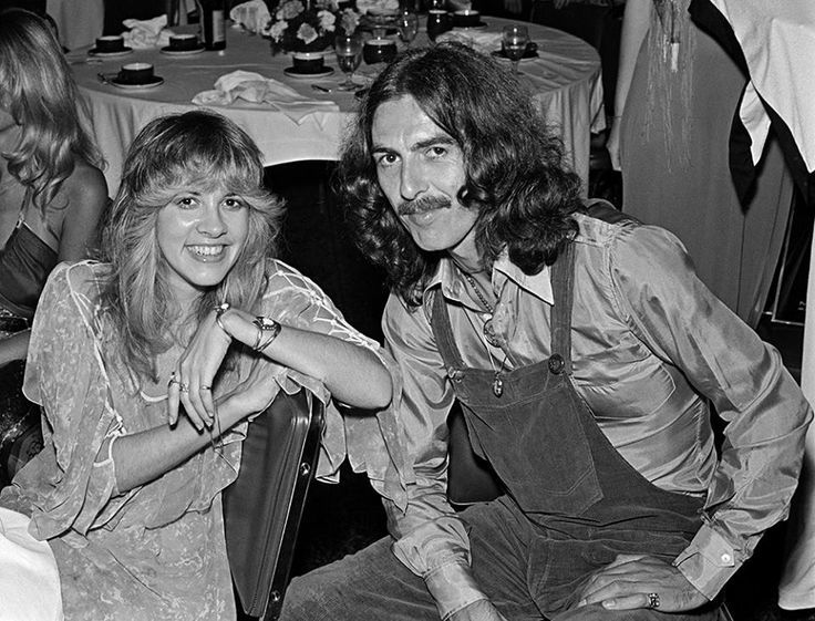 Stevie Nicks and George Harrison Photographed by Sam Emerson