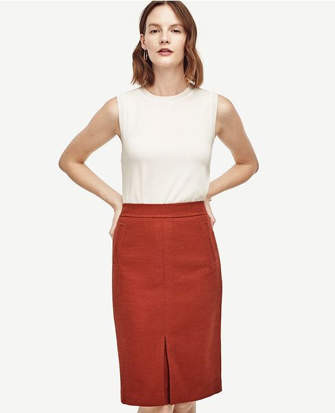 Primary Image of Pocket Pencil Skirt