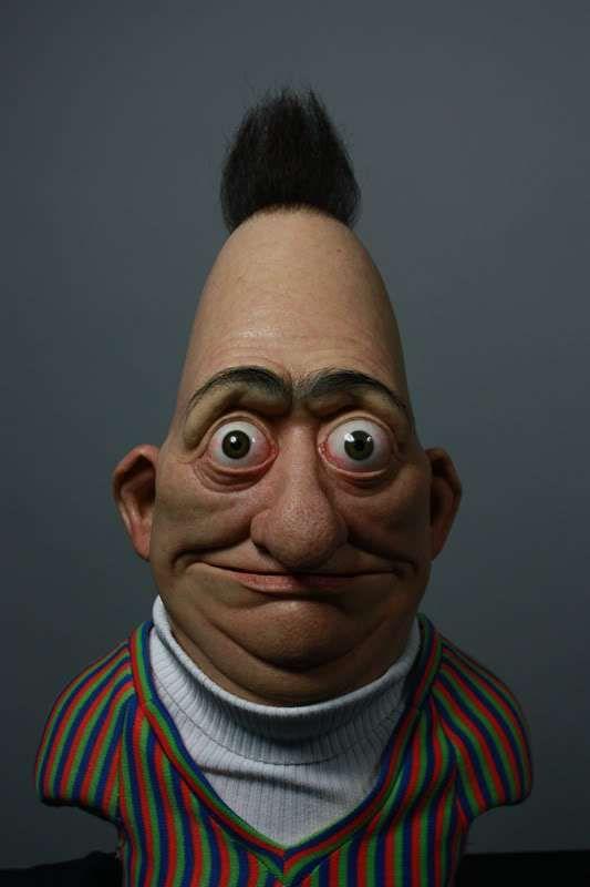 Creepy Sesame Street Characters Realistic Cartoons Creepy