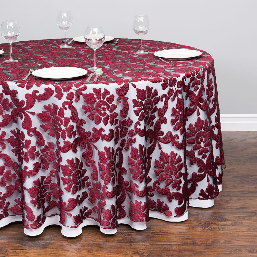 fitted rectangle tablecloth pattern