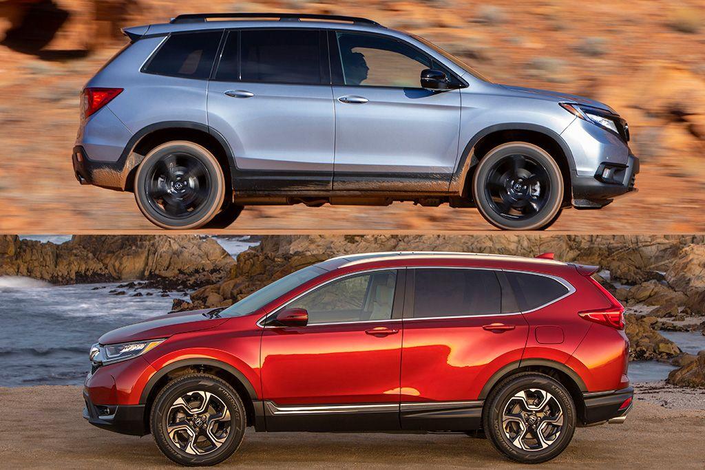 2019 Honda Passport vs. 2019 Honda CRV What's the
