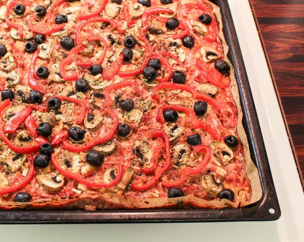 Terveellisempi pizza - ruispohja