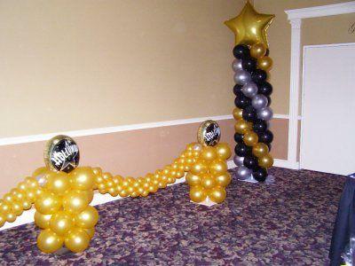decoracion con globos para graduacion buscar con google