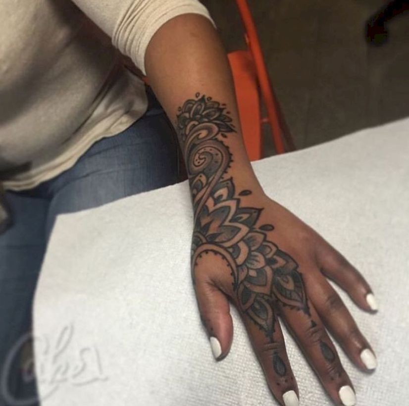 54 Stunning Tattoo Ideas For Women Hand Tattoos For Women Skull