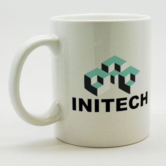 office space coffee mug. Office Space Initech Company Logo Coffee Mug - 11 Oz Porcelain Professional Quality- U