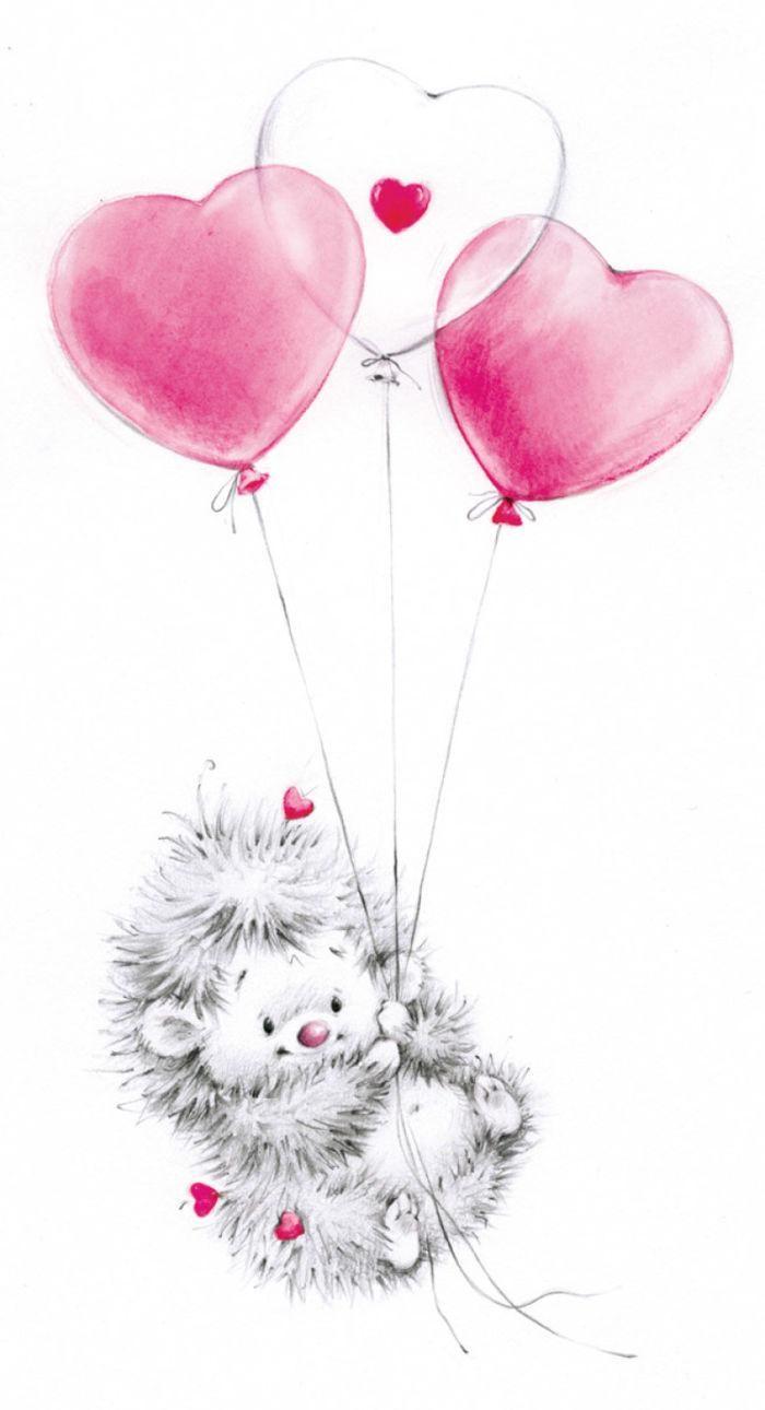 Marina Fedotova Art Stamps Baby Zeichnung