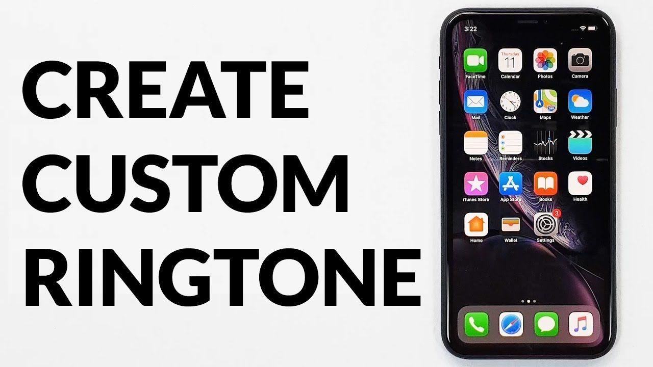 How To Create Iphone Ringtone With Garageband Iphone Ringtone Custom Ringtones Garage Band